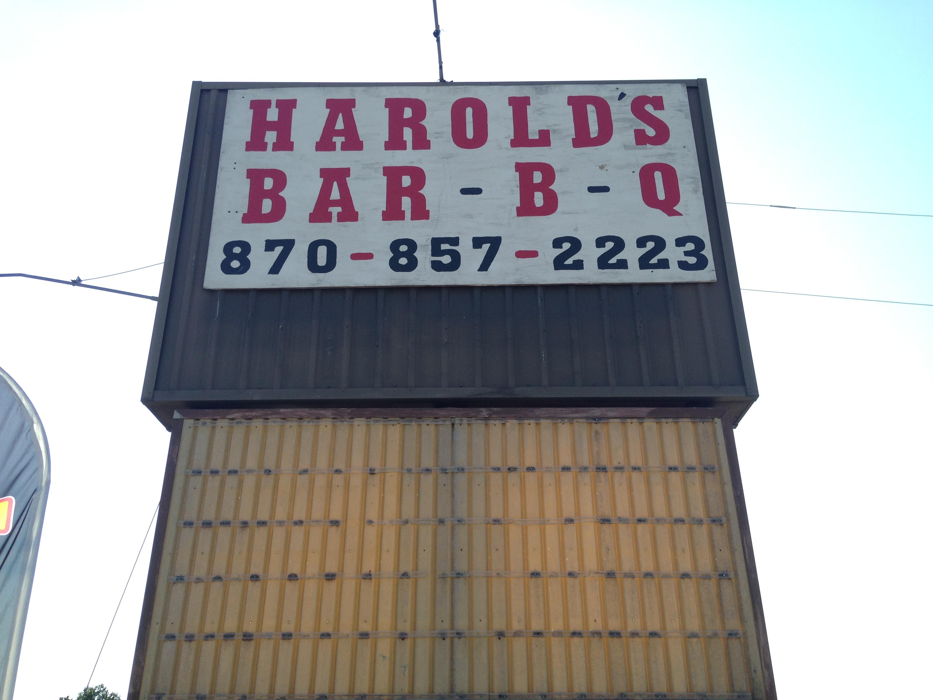 HAROLD'S BAR-B-Q