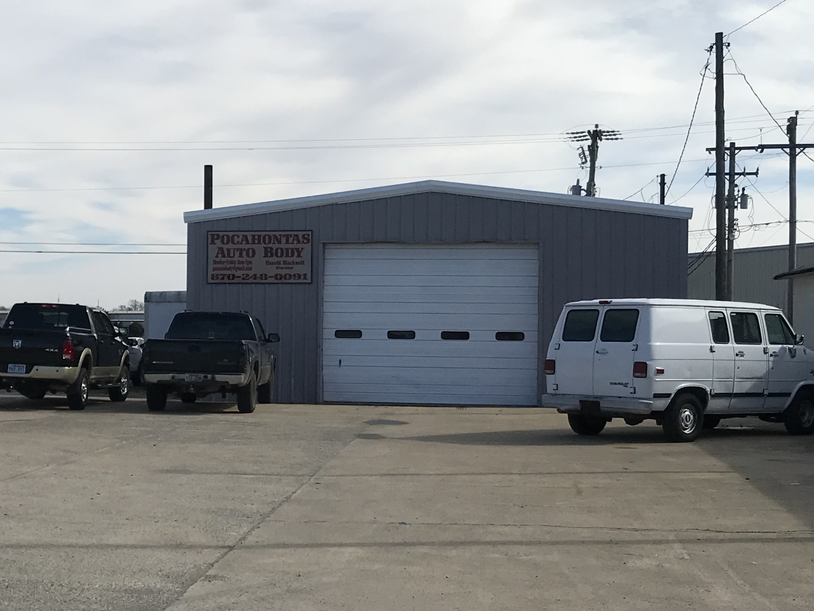 BODY SHOPS IN POCAHONTAS, AR